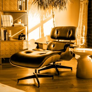 3BE blog the audience is listening music audition eames chair loft